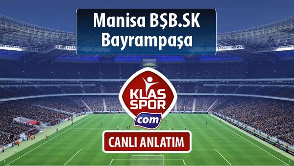 İşte Manisa BŞB.SK - Bayrampaşa maçında ilk 11'ler