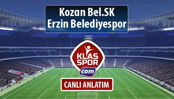 İşte Kozan Bel.SK - Erzin Belediyespor maçında ilk 11'ler