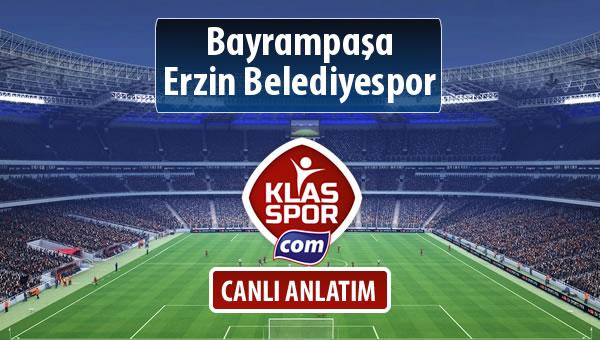 İşte Bayrampaşa - Erzin Belediyespor maçında ilk 11'ler