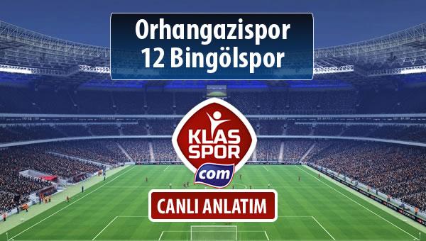 İşte Orhangazispor - 12 Bingölspor maçında ilk 11'ler
