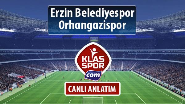 Erzin Belediyespor - Orhangazispor maç kadroları belli oldu...