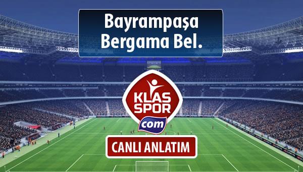 İşte Bayrampaşa - Bergama Bel. maçında ilk 11'ler