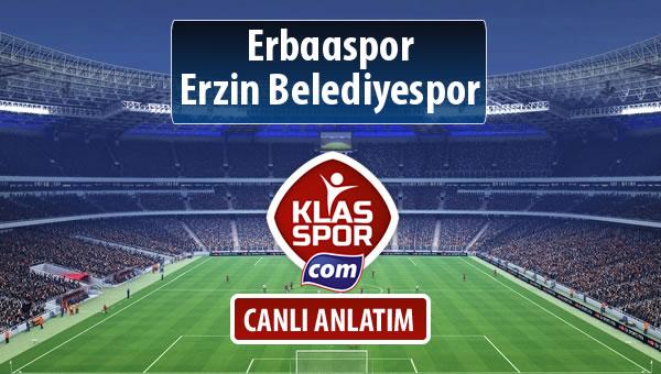 İşte Erbaaspor - Erzin Belediyespor maçında ilk 11'ler