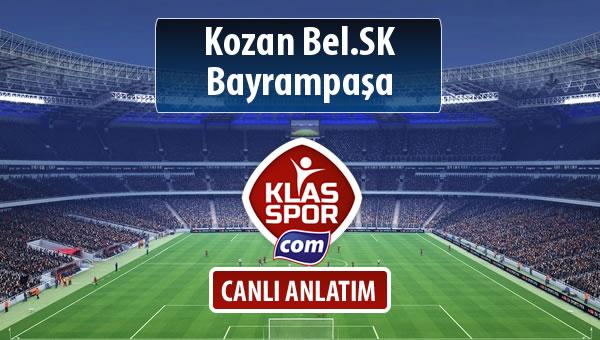İşte Kozan Bel.SK - Bayrampaşa maçında ilk 11'ler