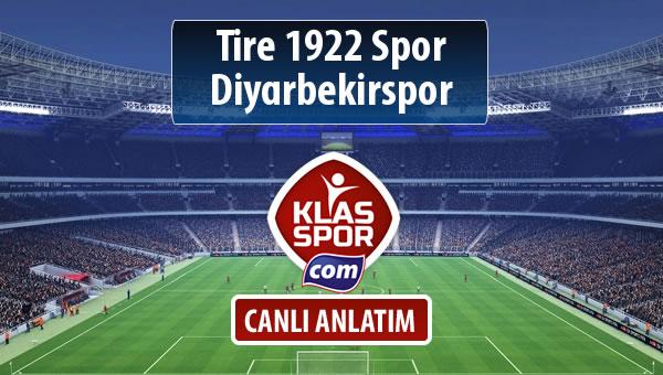 İşte Tire 1922 Spor - Diyarbekirspor maçında ilk 11'ler