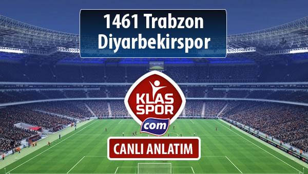 1461 Trabzon - Diyarbekirspor maç kadroları belli oldu...