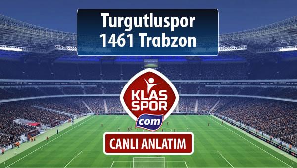 Turgutluspor - 1461 Trabzon maç kadroları belli oldu...