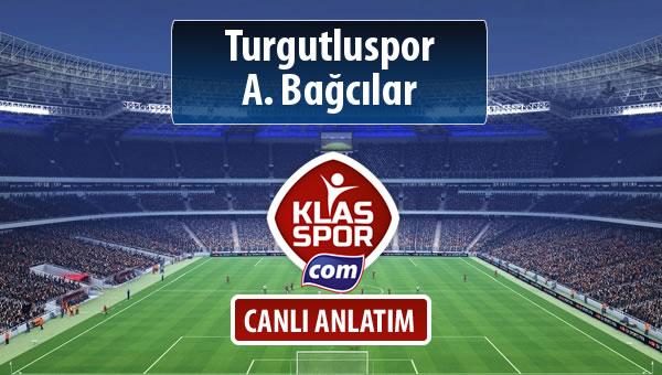 İşte Turgutluspor - A. Bağcılar maçında ilk 11'ler
