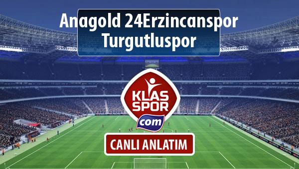 İşte Anagold 24Erzincanspor - Turgutluspor maçında ilk 11'ler