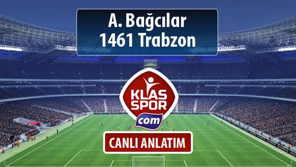 İşte A. Bağcılar - 1461 Trabzon maçında ilk 11'ler