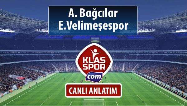 A. Bağcılar - E.Velimeşespor maç kadroları belli oldu...