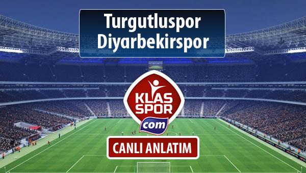 Turgutluspor - Diyarbekirspor sahaya hangi kadro ile çıkıyor?
