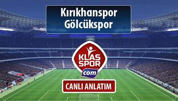 İşte Kırıkhanspor - Gölcükspor maçında ilk 11'ler