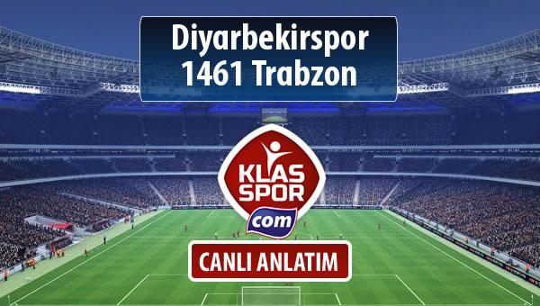 Diyarbekirspor - 1461 Trabzon sahaya hangi kadro ile çıkıyor?