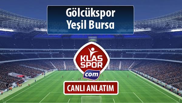 Gölcükspor - Yeşil Bursa sahaya hangi kadro ile çıkıyor?
