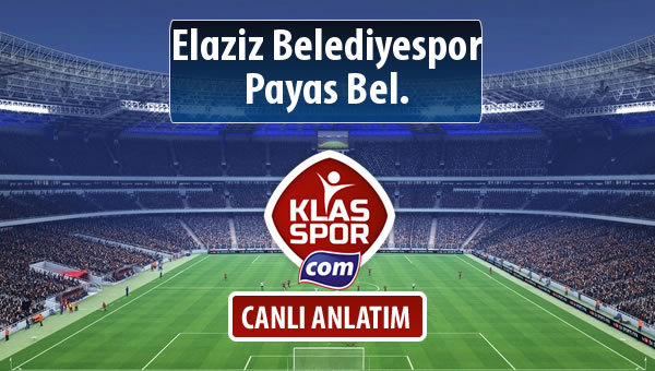 Elaziz Belediyespor - Payas Bel. maç kadroları belli oldu...