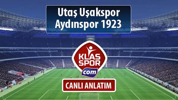 Utaş Uşakspor - Aydınspor 1923 maç kadroları belli oldu...