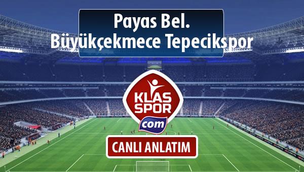 Payas Bel. - Büyükçekmece Tepecikspor maç kadroları belli oldu...