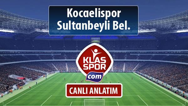 Kocaelispor - Sultanbeyli Bel. maç kadroları belli oldu...
