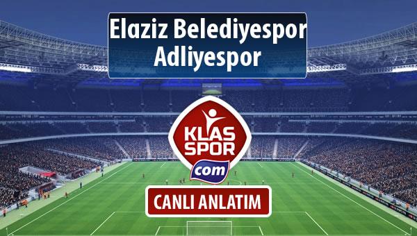 İşte Elaziz Belediyespor - Adliyespor maçında ilk 11'ler