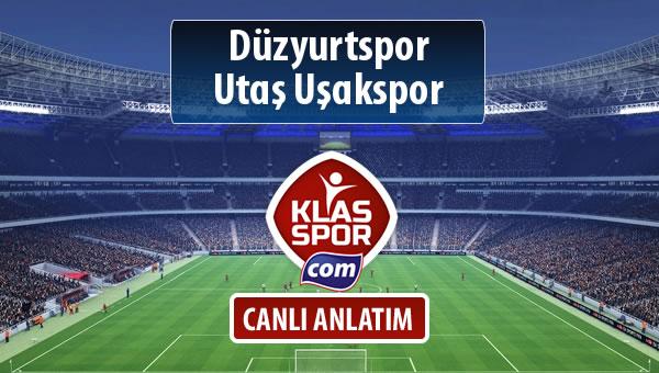 İşte Düzyurtspor - Utaş Uşakspor maçında ilk 11'ler