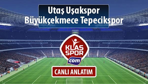 Utaş Uşakspor - Büyükçekmece Tepecikspor sahaya hangi kadro ile çıkıyor?