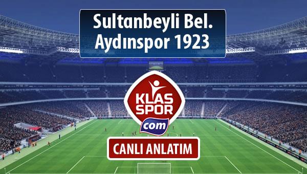 Sultanbeyli Bel. - Aydınspor 1923 sahaya hangi kadro ile çıkıyor?