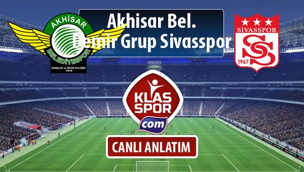 İşte Akhisar Bel. - Demir Grup Sivasspor maçında ilk 11'ler