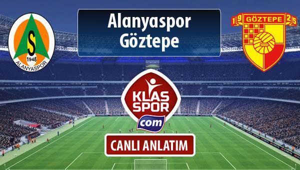 Alanyaspor - Göztepe maç kadroları belli oldu...