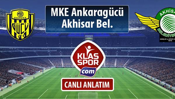 MKE Ankaragücü - Akhisar Bel. sahaya hangi kadro ile çıkıyor?