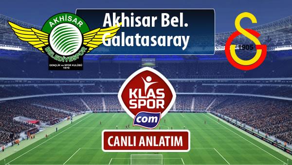 Akhisar Bel. - Galatasaray sahaya hangi kadro ile çıkıyor?