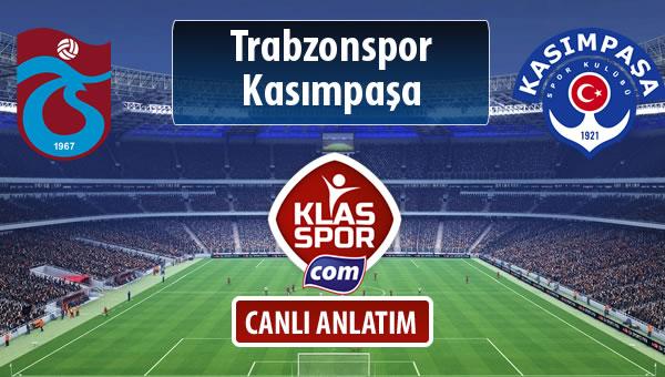 Trabzonspor - Kasımpaşa sahaya hangi kadro ile çıkıyor?