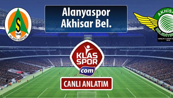 İşte Alanyaspor - Akhisar Bel. maçında ilk 11'ler