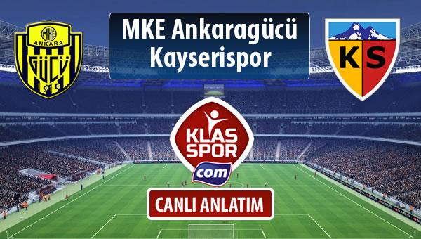 İşte MKE Ankaragücü - Kayserispor maçında ilk 11'ler