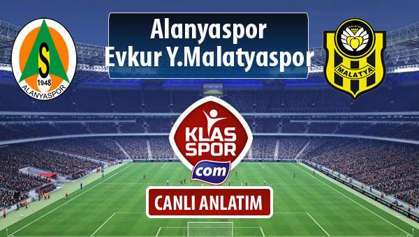 Alanyaspor - Evkur Y.Malatyaspor maç kadroları belli oldu...