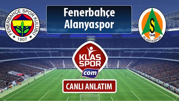 Fenerbahçe - Alanyaspor maç kadroları belli oldu...