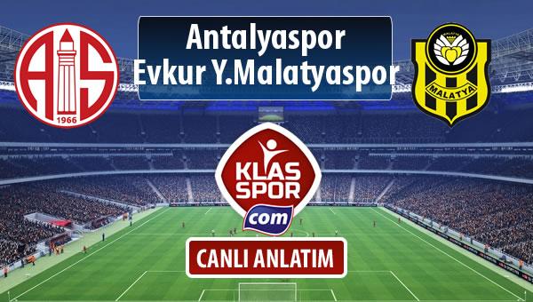 Antalyaspor - Evkur Y.Malatyaspor sahaya hangi kadro ile çıkıyor?