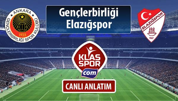 Gençlerbirliği - Elazığspor sahaya hangi kadro ile çıkıyor?