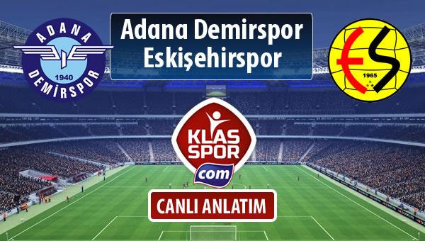 İşte Adana Demirspor - Eskişehirspor maçında ilk 11'ler