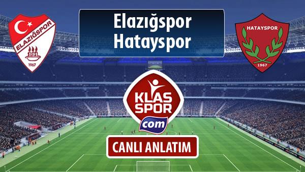 İşte Elazığspor - Hatayspor maçında ilk 11'ler