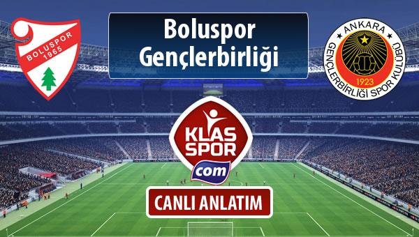 Boluspor - Gençlerbirliği maç kadroları belli oldu...