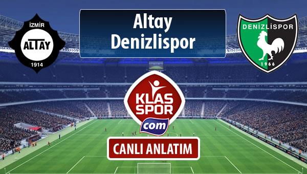 İşte Altay - Denizlispor maçında ilk 11'ler