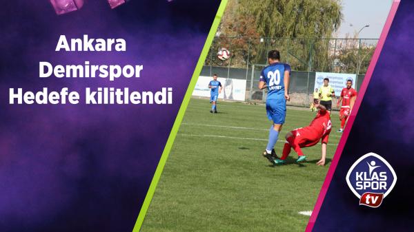 Ankara Demirspor seriyi sürdürmek istiyor