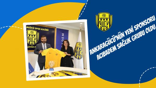 Ankaragücü'nün yeni sponsoru Acıbadem Sağlık Grubu oldu