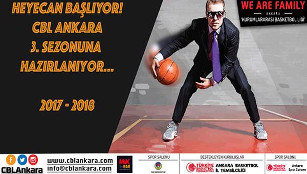 CBL Ankara'da 3. sezon başlıyor