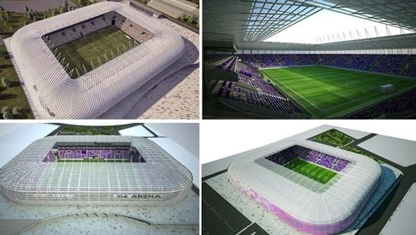 """Eryaman Stadyumu'nda """"Hibrit çim"""" kullanılacak"""