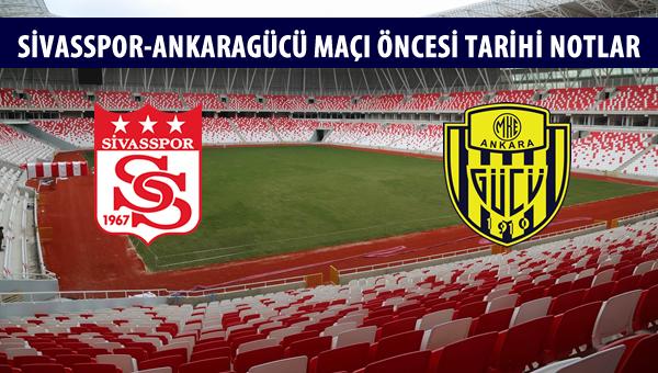 Sivasspor-Ankaragücü maçı öncesi tarihi notlar!