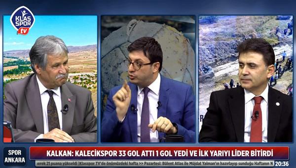 Spor Ankara'da Kalecik konuşuldu