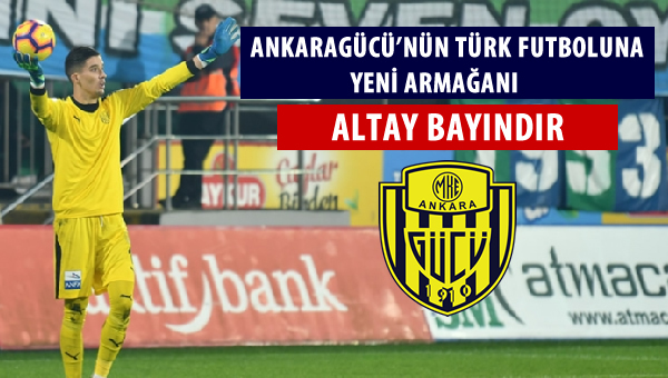 Türk futboluna yeni armağan: Altay Bayındır