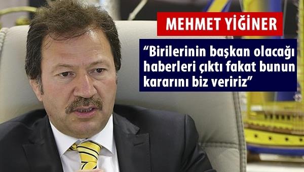 """""""Ankaragücü'ne dışarıdan kimse müdahale edemez"""""""